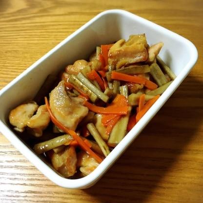 常備菜に作りました。 美味しい! 子ども達にも大好評でした(*^^*)