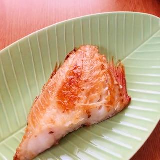 フライパンで焼き魚!赤魚