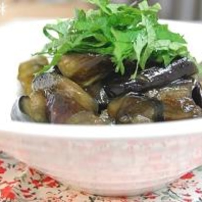 小さなおかず♪常備菜にも♪なすの甘辛煮。