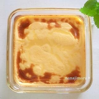 トースターで焼く☆簡単すぎる焼きプリン