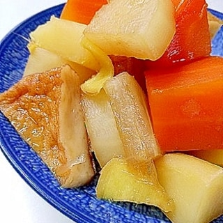 夏の副菜 さつま揚げと根菜の煮物
