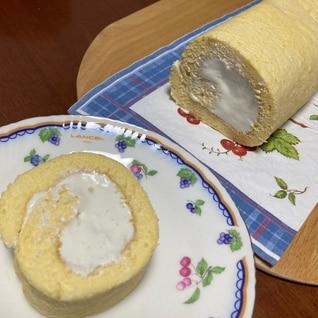 絶品マロンクリームのロールケーキ