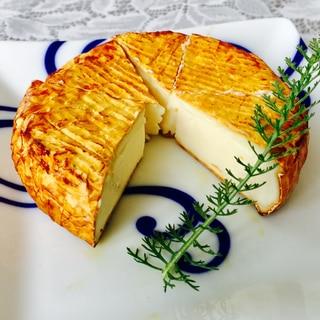 ちょっと贅沢に#カマンベールチーズの燻製