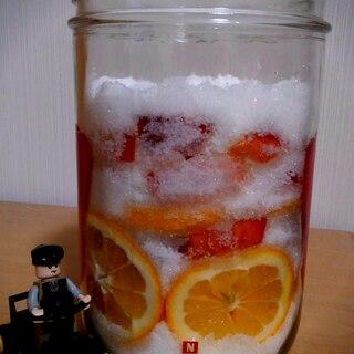りんごとレモンの酵素シロップ!酵素ジュースなどに♪