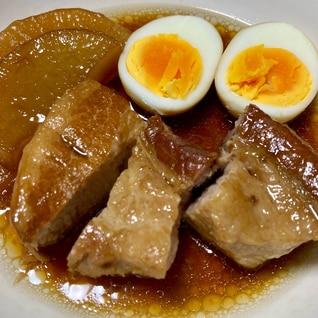 圧力鍋利用☆豚の角煮