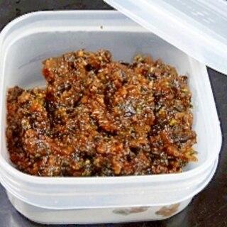 ご飯がススム常備菜☆ 「紫蘇の実味噌」