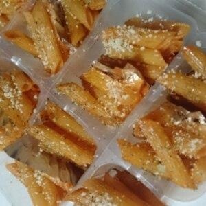 冷凍ナポリタン、ケチャップパスタ自然解凍で美味しい