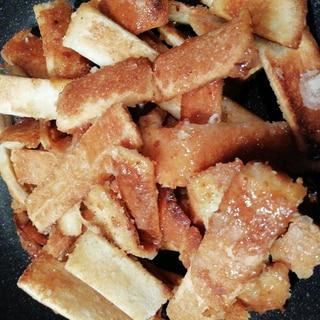 トースター&フライパンで簡単☆ザクザクパン耳ラスク