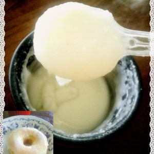 卵白も粉糖も不要 牛乳使用の 泣かないアイシング