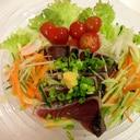 カツオのたたきサラダ☆簡単
