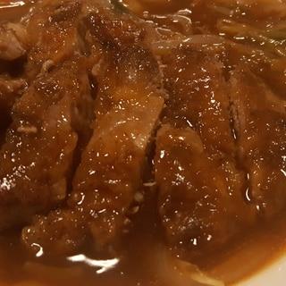 甘辛タレでおいしく! 激ウマ豚ロース焼き