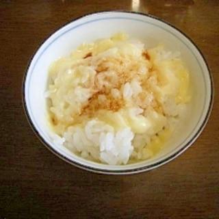 とろける♪チーズかけご飯
