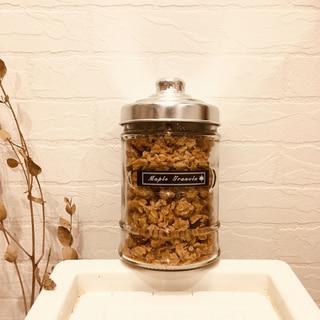 ワンボウルで簡単!香ばしナッツのメープルグラノーラ