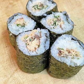 簡単!うまい!鯖缶で鯖の巻き寿司