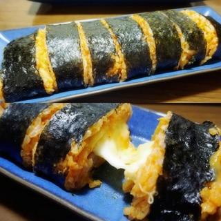 チーズとろ~り♪ チーズキンパ* 韓国海苔巻き *
