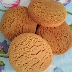 低糖質♪大豆粉で作る黒蜜クッキー