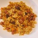 炊飯器で作る、カルパスでビリヤニ風ご飯