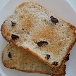 早焼き★ふわふわレーズン食パン