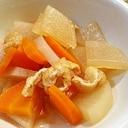 簡単*常備菜*大根とにんじんと油揚げの煮物