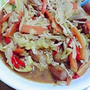 簡単、すぐできる焼き肉風炒め物
