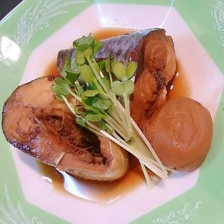 電気圧力鍋で◎鯖の梅干煮