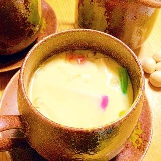 圧力鍋で簡単、茶碗蒸し