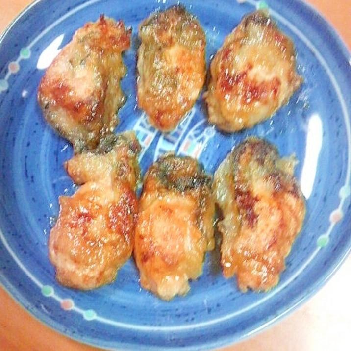 牡蠣のバター醤油焼き