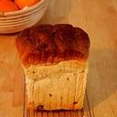 オレンジとレーズンの食パン