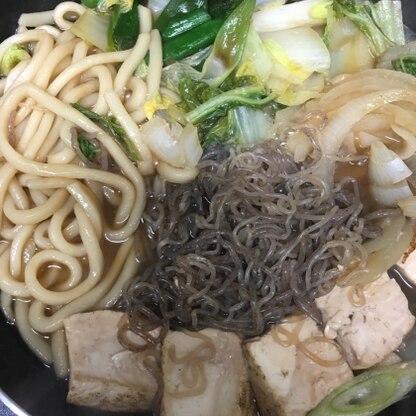 野菜もいっぱい入れて食べました^ ^ 美味しかったです!