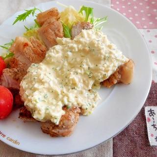 豚ロースタルタルステーキ