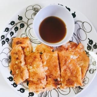 キムチーズ豆腐チヂミ