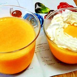 甘さひかえめ☆かぼちゃのプリン