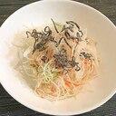 千切り大根と塩昆布の和風サラダ