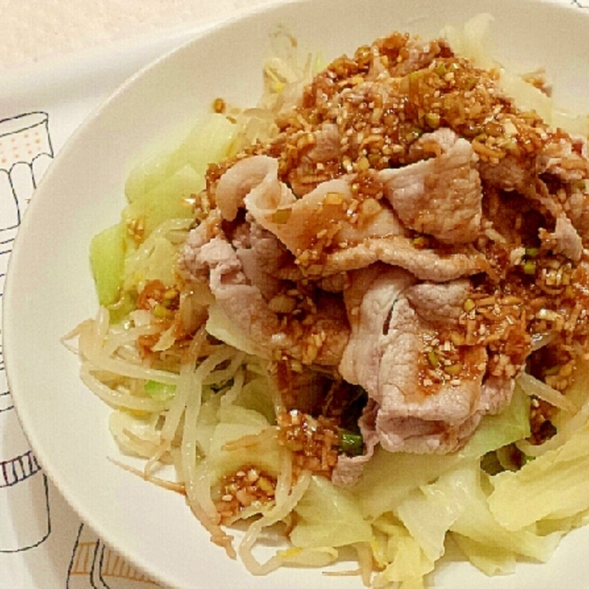サラダ 豚 しゃぶ