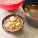 超簡単にお店の味★とろ〜り麺つゆの鶏ねぎ蕎麦