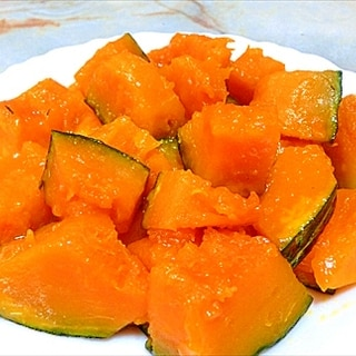 超簡単節約レシピ『甘ほく!バターかぼちゃ』