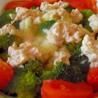 温野菜サラダ♡ツナドレッシング