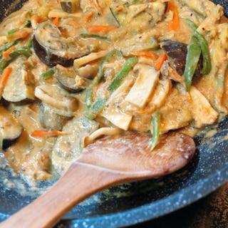★ツナと豆腐とアーモンドミルクのカレー★低カロリー