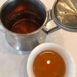 アツアツで淹れた冷たい紅茶