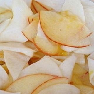 蕪とリンゴのピラピラなます