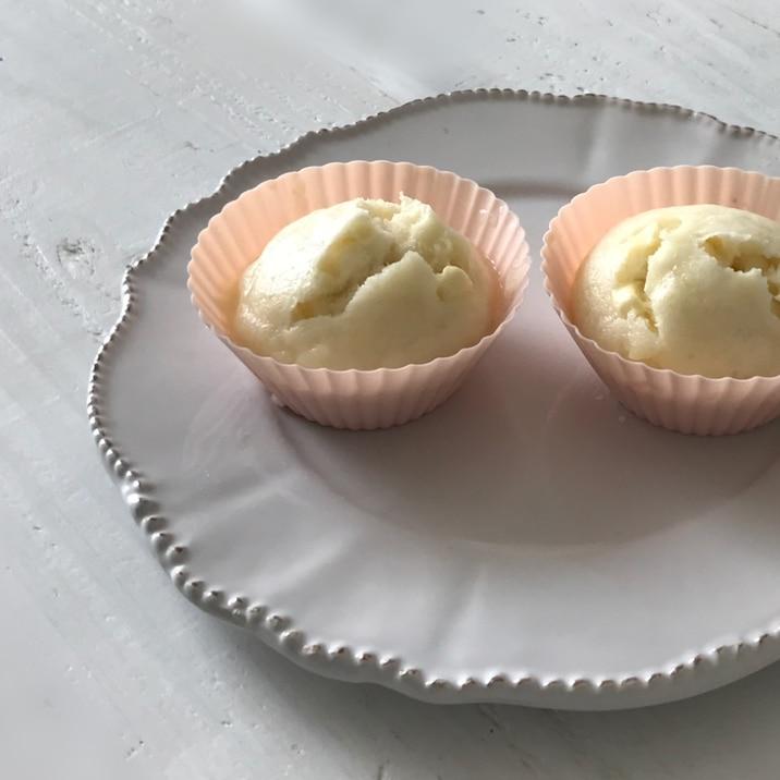 離乳食に☆シンプルなチーズ蒸しパン