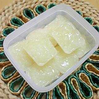 【離乳食初期】玉ねぎのすり潰し(冷凍ストック)