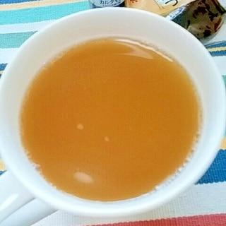 ホッと☆酒粕入りカルダモンカモミールティー♪