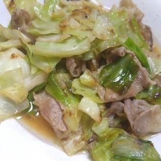 豚バラキャベツの塩麹炒め