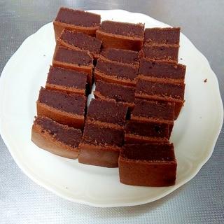 しっとり濃厚なチョコレートブラウニー