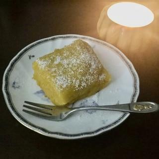レンジでチン超簡単パンプキンケーキ
