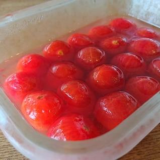 ★ミニトマトの砂糖漬け★大量消費★