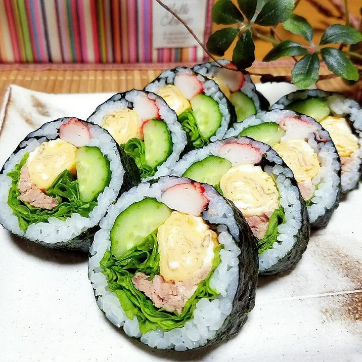 巻き サラダ