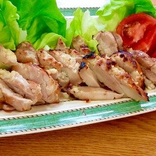 漬け置き、冷凍保存も便利*鳥もも肉の塩麹グリル焼き