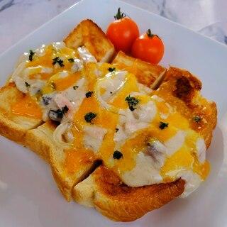 豆乳カルボトースト